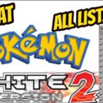 Pokemon White 2 Cheats for Nintendo DS [Action Replay Codes]
